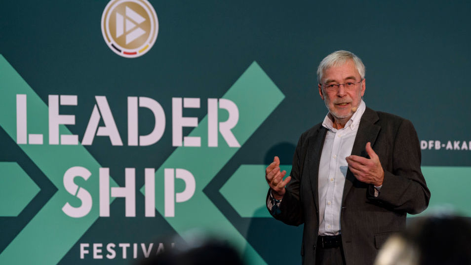 FRANKFURT AM MAIN, GERMANY - DECEMBER 05: Prof. Dr. Gerald Huether attends the DFB Academy Leadership Festival at DFB Headquarter on December 5, 2018 in Frankfurt am Main, Germany. (Photo by Alexander Scheuber/Getty Images For DFB)